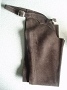 L BROWN SUEDE ENG FULL CHAP LARGE