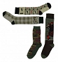OV LADIES FASHION SOCKS-PLAID 451569 LADIES